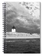 Wood End Lighthouse Provincetown Spiral Notebook