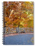 Wood Fence 1 Spiral Notebook