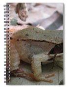 Wood Frog  Spiral Notebook
