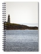 Wood Island Lighthouse 2 Spiral Notebook