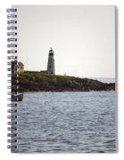 Wood Island Lighthouse 3 Spiral Notebook