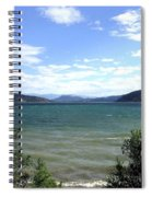Wood Lake In Summer Spiral Notebook