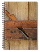 Wood Molding Plane 2 Spiral Notebook