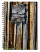 Wood On Wood Spiral Notebook