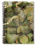 Wood Pile Spiral Notebook