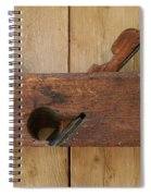 Wood Plane 3 Spiral Notebook