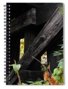 Wood Rail Underpass Spiral Notebook