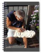 Woodcarver Spiral Notebook