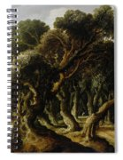 Wooded Landscape Spiral Notebook