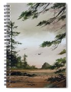 Wooded Shore Spiral Notebook