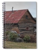 Wooden Barn Spiral Notebook