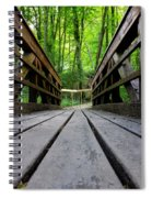 Wooden Bridge Spiral Notebook