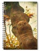 Wooden Creatures Spiral Notebook