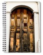 Wooden Door 1 Spiral Notebook