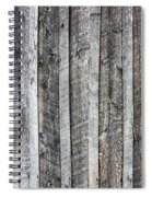Wooden Fence And Ivy Spiral Notebook