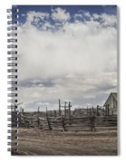 Wooden Fenced Corral Out West Spiral Notebook