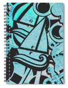 Wooden Harbour Spiral Notebook
