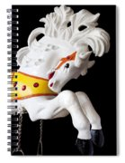 Wooden Horse 2 Spiral Notebook