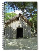 Wooden Mission Of Nombre De Dios Spiral Notebook