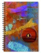 Wooden Mystery Spiral Notebook
