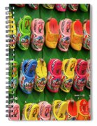 Wooden Shoes From Amsterdam Spiral Notebook