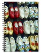 Wooden Shoes Spiral Notebook