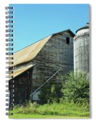 Wooden Silo Spiral Notebook