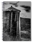 Wooden Silo Spiral Notebook