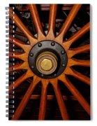 Wooden Spokes Spiral Notebook