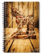 Wooden Trojan Horse Spiral Notebook
