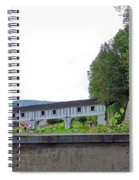 Wooden Walkway As Seen From The Cesky Krumlov Casle Gardens  Spiral Notebook