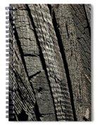 Wooden Water Wheel Spiral Notebook