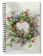 Woodland Berry Wreath Spiral Notebook