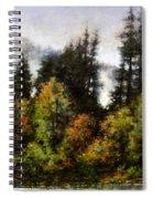 Woodland Bottoms In April Spiral Notebook