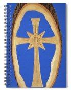 Woodland Cross Spiral Notebook