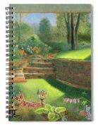 Woodland Garden In A Small Town Spiral Notebook