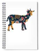 Woodland Goat Spiral Notebook