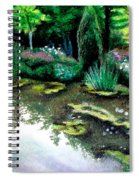 Woodland Mystery Spiral Notebook