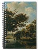 Woodland Pond Spiral Notebook
