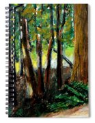Woodland Trail Spiral Notebook