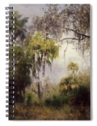 Woodland With Deer Spiral Notebook