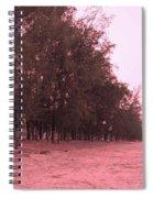 Woodlands At The Beach Spiral Notebook