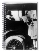 Woodrow Wilson (1856-1924) Spiral Notebook