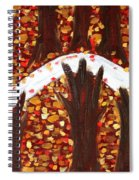 Woods In Autumn Spiral Notebook