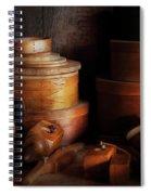 Woodworker - Shaker Box Shop  Spiral Notebook