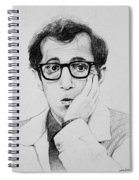 Woody Allen Spiral Notebook