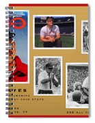 Woody Hayes Legen Five Panel Spiral Notebook