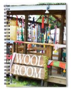 Wool Room 1 Spiral Notebook