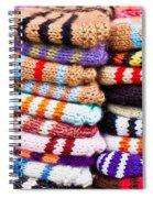 Wool Socks Spiral Notebook