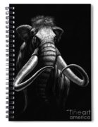 Woolly Mammoth Spiral Notebook